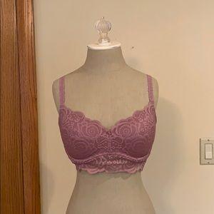 VS Pink Lace Bralette
